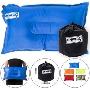 Other - NEW~ In Black- Camping Pillow/Small Inflatable